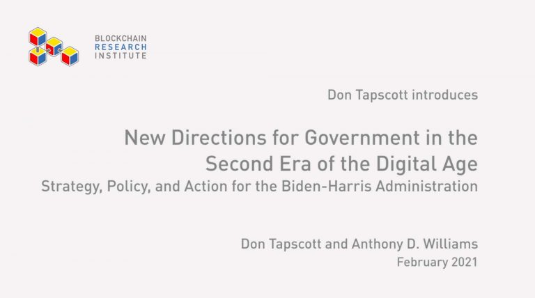New Directions For Government